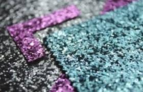 PACKAGING glitter